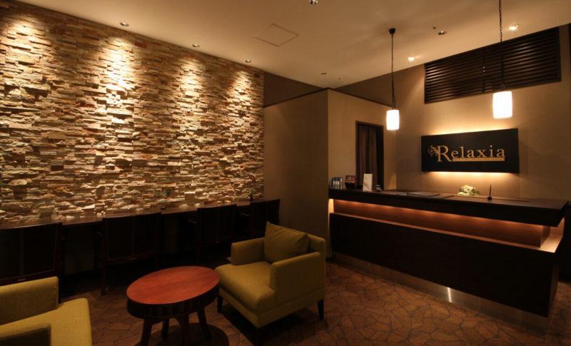 リラクゼーションサロンの店舗デザイン・内装デザイン例
