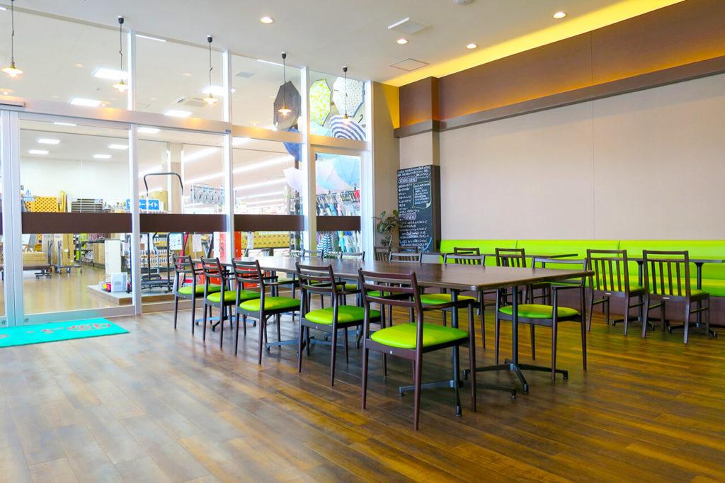 宮城県塩釜市の店舗内装例_地域と一緒に成長する、ちょっと小洒落た街の定食屋さん。